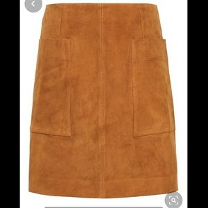 Banana Republic Suede Skirt *Capsule*